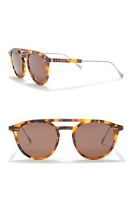 Tod's 49mm High Bow Sunglasses