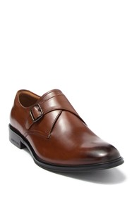 Kenneth Cole New York Tully Leather Monk Strap Oxf