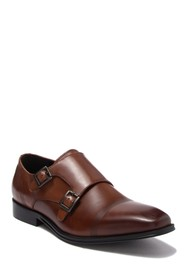 Kenneth Cole Reaction Pure Leather Monk Strap Loaf