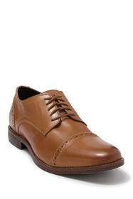 Rockport Style Purpose Leather Cap Toe Derby