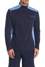 Brooks Brothers Colorblock Half Zip Pullover