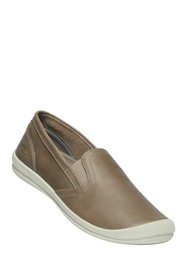 Keen Lorelai Leather Slip-On Sneaker