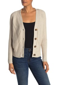 Cyrus V-Neck Button Front Cardigan