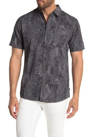 Hurley Paradise Winds Short Sleeve Button-Down Shi
