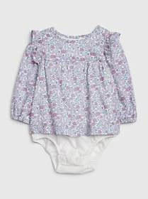 Ruffle Floral Body Double