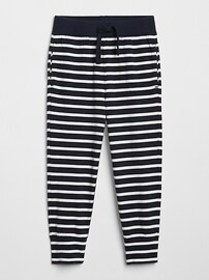 Toddler Stripe Pull-On Joggers