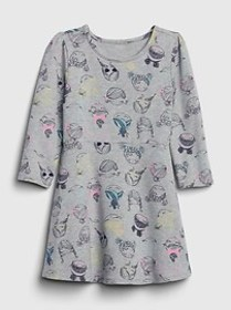 Toddler Bea Fit and Flare Dress