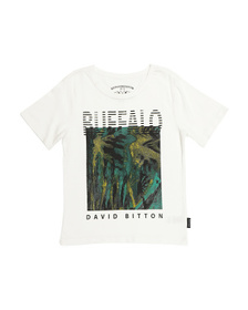 BUFFALO DAVID BITTON Big Boys Graphic Jersey Tee