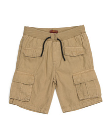 7 FOR ALL MANKIND Big Boys Ripstop Cargo Shorts