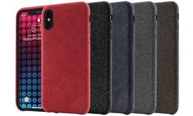 Waloo Fabric Design Case For iPhone X/XS, XR, or X