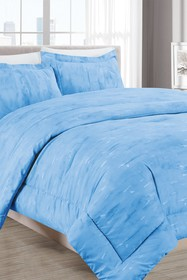 Melange Home Sleepy Texture Comforter 3-Piece Set