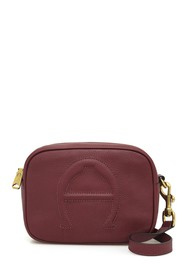 Etienne Aigner Bombe A Camera Leather Crossbody
