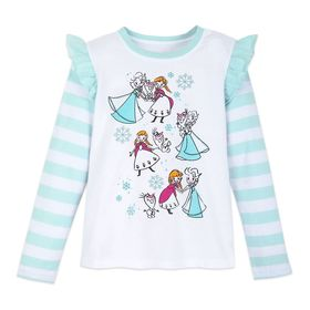 Disney Frozen Long Sleeve T-Shirt for Girls