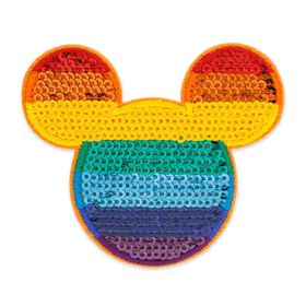 Disney Mickey Mouse Rainbow Patched