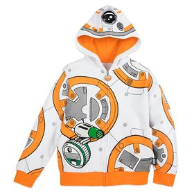 Disney BB-8 and D-O Zip-Up Hoodie for Kids – Star