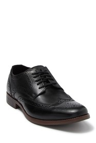 Rockport Style Purpose Leather Wingtip Derby - Wid