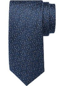 Awearness Kenneth Cole Navy Textured Narrow Tie