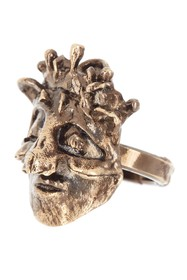 Valentino Crowned Skull Ring