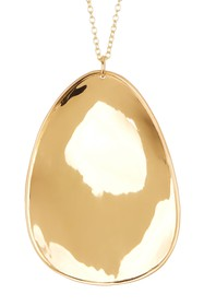 Argento Vivo 18K Gold Plated Sterling Silver Large