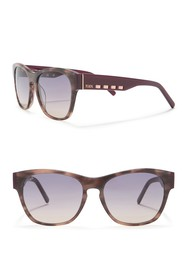 Tod's 56mm Square Sunglasses