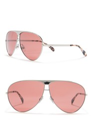 Givenchy Aviator 66mm Sunglasses