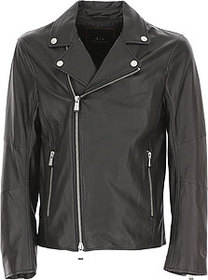 Armani Exchange Leather Jacket for Men