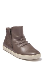 Rockport Willa Leather High-Top Sneaker