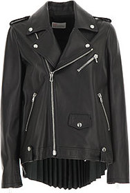 RED Valentino Leather Jacket for Women