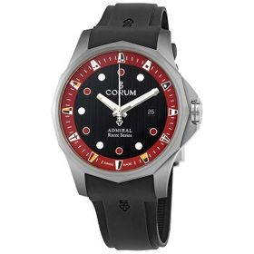 CorumAdmiral Racer Black-Red Dial Automatic Men's