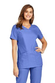 Lands End Women's Scrub Top