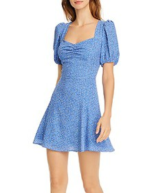 FRENCH CONNECTION - Verona Puff-Sleeve Dress
