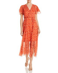 FRENCH CONNECTION - Esi Crepe Floral Maxi Dress