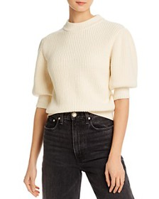 Rebecca Minkoff - Olive Elbow Puff-Sleeve Sweater