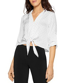 BCBGENERATION - Satin Tie Blouse