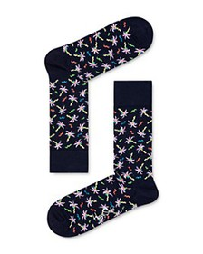 Happy Socks - Confetti Palm Socks