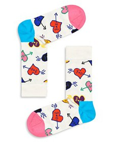 Happy Socks - Linda & Johnny Heart Socks