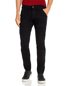 G-STAR RAW - Rackam 3-D Skinny Fit Jeans in Pitch