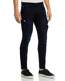 G-STAR RAW - Airblaze 3-D Skinny Fit Jeans in Worn