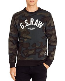 G-STAR RAW - Graphic 12 Camo Sweatshirt
