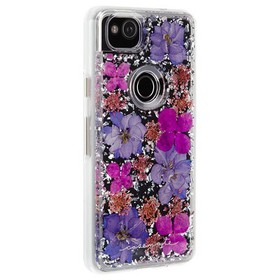 Case-Mate Google Pixel 2 Purple Karat Petals Case