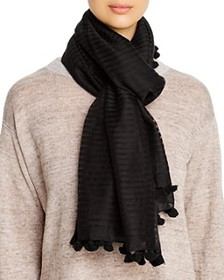 Eileen Fisher - Damask-Stripe Scarf