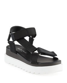 Charles David Rikki Web Platform Sandals