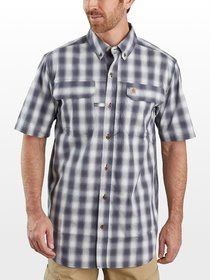 Carhartt TW258 Force Relaxed Fit Plaid Shirt - Men