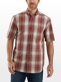 Carhartt TW174 Relaxed Fit Plaid Shirt - Men's
