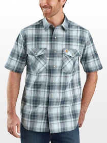 Carhartt TW171 RF Relaxed Fit Plaid Shirt - Men's
