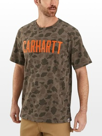 Carhartt TK346 Relaxed Fit Camo T-Shirt - Men's