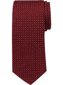 Awearness Kenneth Cole Red Circle Dot Narrow Tie