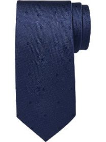 Awearness Kenneth Cole Navy Dot Narrow Tie