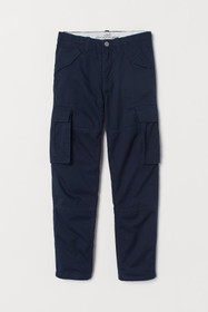 Lined Cargo Pants