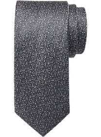 Awearness Kenneth Cole Gray Textured Narrow Tie